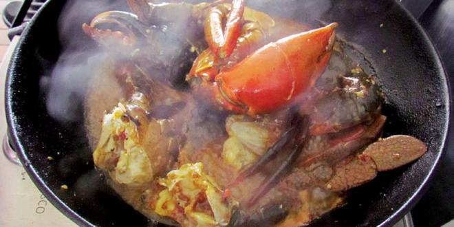 Thai chilli mud crab