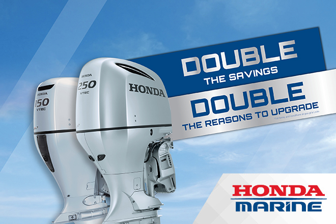 Double the Savings this September with Honda Marine!