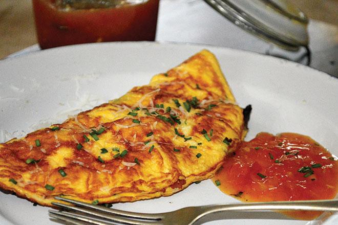 breakfast omelette recipe
