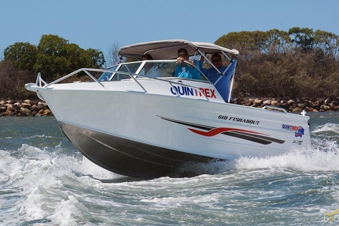 quintrex fishabout runabout