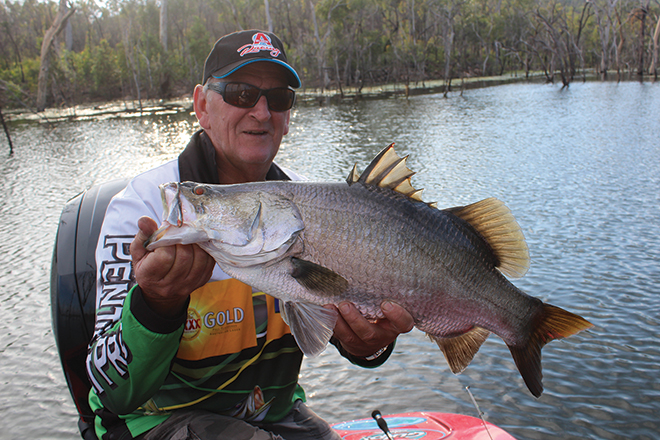 queensland barra fishing