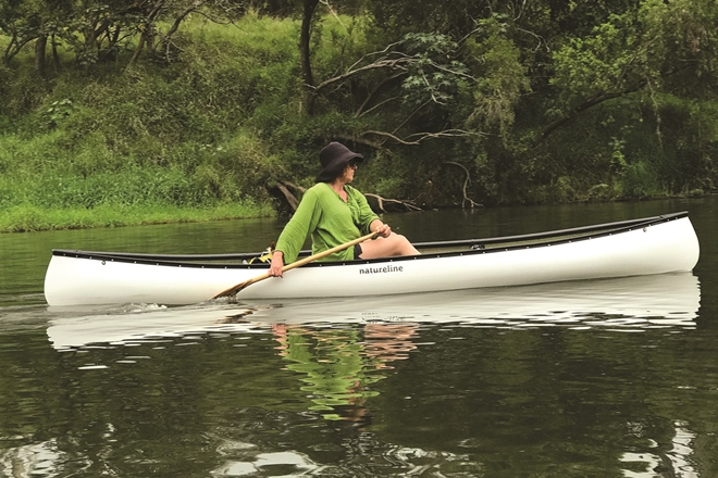 paddling mary river
