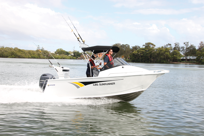 horizon 485 sunrunner boat review