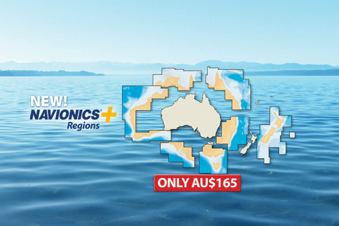 navionics+ regions aus nz