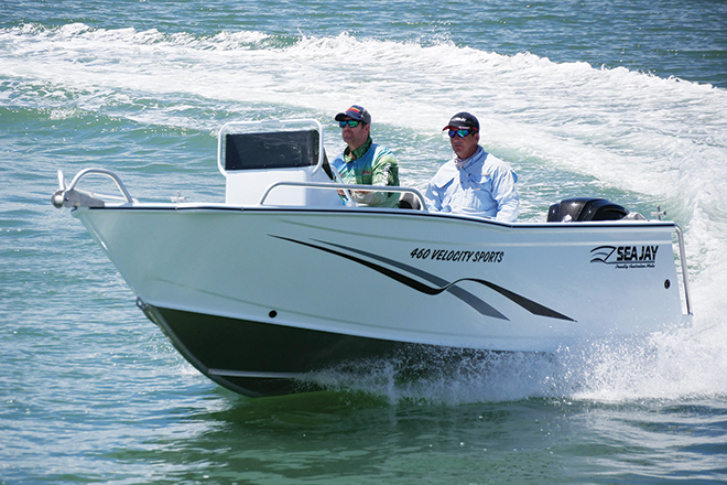 sea jay 460 velocity sports review