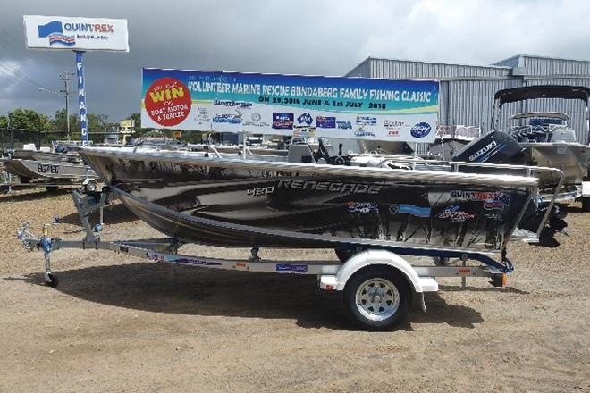 vmr bundaberg fishing classic prize boat 2018