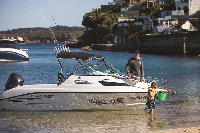 whittley melbourne boat show