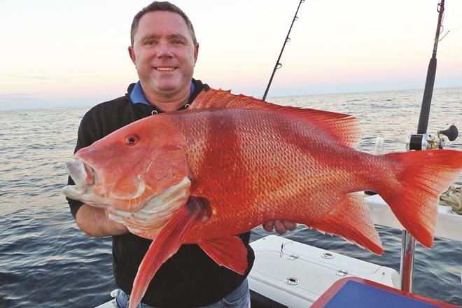 fishing off fraser red emperor