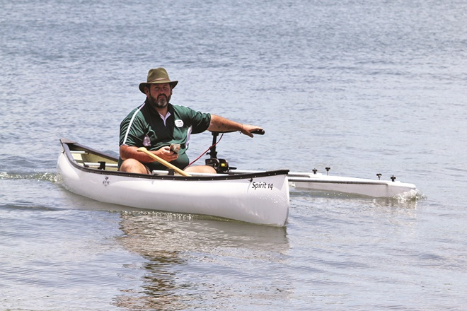 solar powered canoe