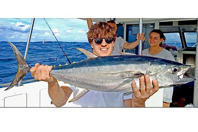 sunshine reef longtail tuna