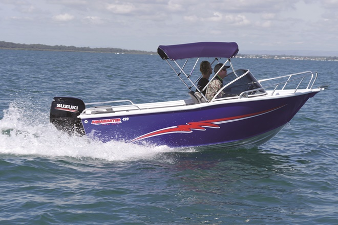 aquamaster 420 runabout boat review