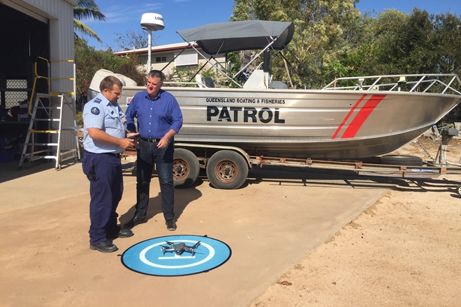 drone fisheries gulf of carpentaria