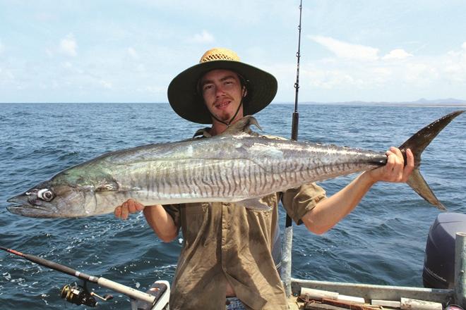 drought-breaking rain brunswick heads fishing