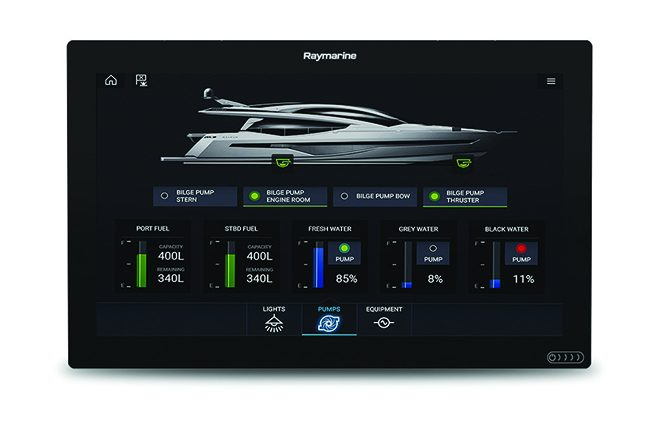raymarine czone collaboration