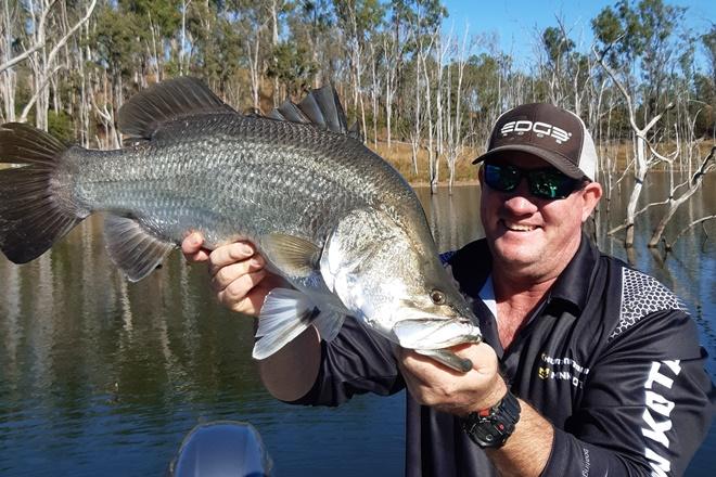 rewarded with good catches lake monduran