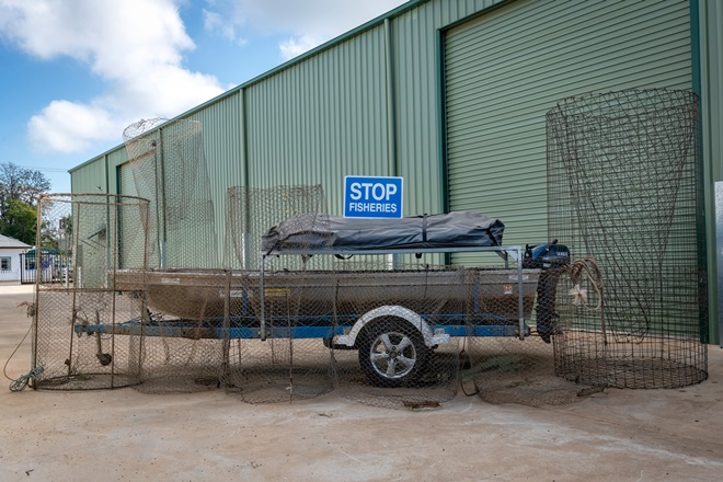 illegal fisher nsw