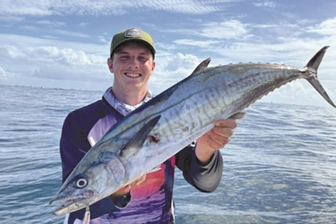 Gold Coast mackerel action predicted